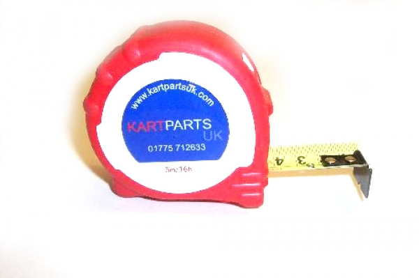Beta Measuring Tape Kart Parts Logo