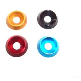 M6 Anodised Countersunk Washers