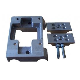 Gillard Engine Mount with Clamps - Drilled