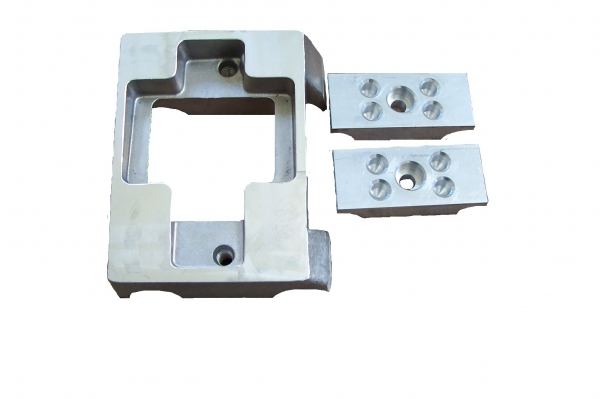 Gillard Engine Mount with Clamps - Undrilled