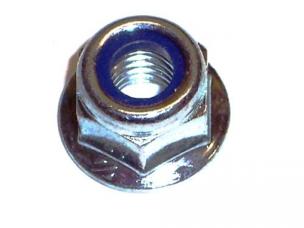M8 Flanged Locking Wheel Nuts (Pack of 6)