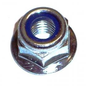 M6 Flanged Locking Nut (Pack of 6)