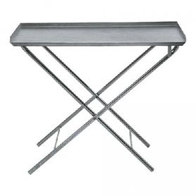 Folding Metal Pit Table