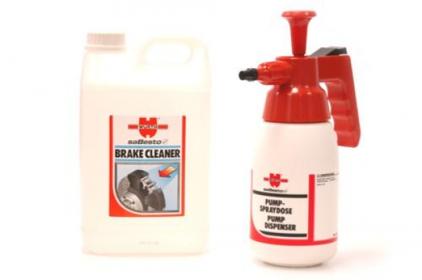 Wurth Brake Pump & 3 Litres of Brake Cleaner
