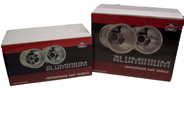 Set Of Douglas Alluminium Wheels 180/120mm