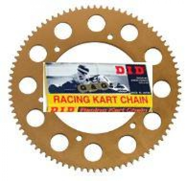 DID Chain 104 Link & Rear Sprocket