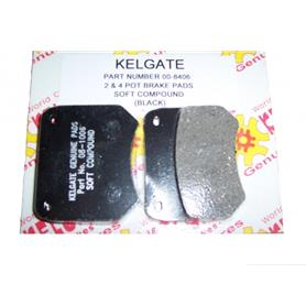 Kelgate 2 & 4 Pot Front Brake Pads 00-8406