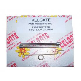 Kelgate Brake Pad Pin Kit 6 Pot SuperKart and KA4 Calipers 00-8172