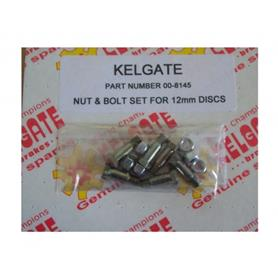 Kelgate Nut & Bolt Set for 12mm Discs 00-8145