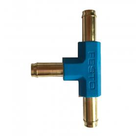 T Fuel Connector with Brass Fittings