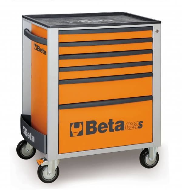 Beta Tools C24S / 6 Roller Cabinet Tool Box 6 Drawer