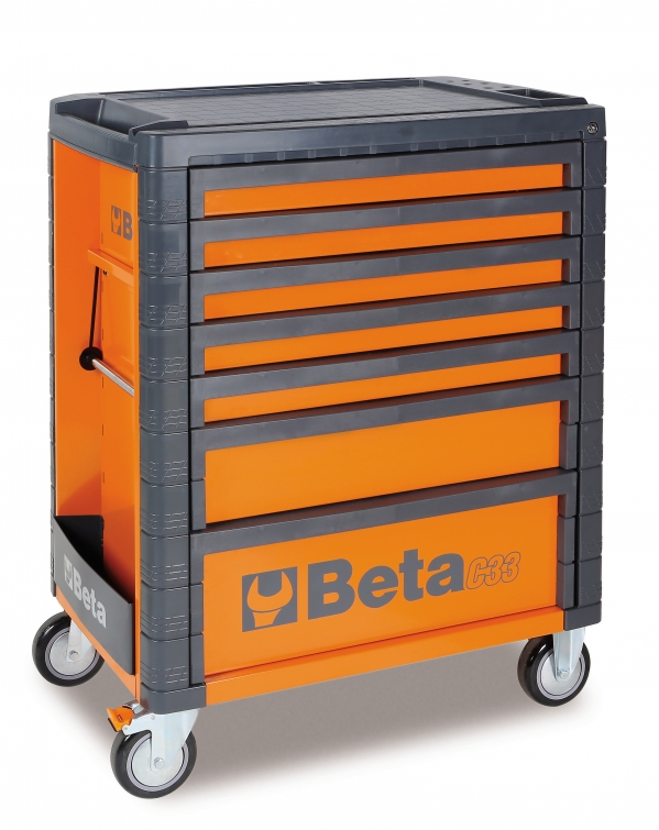 Beta Tools C33 / 7 Roller Cabinet Tool Box 7 Drawer