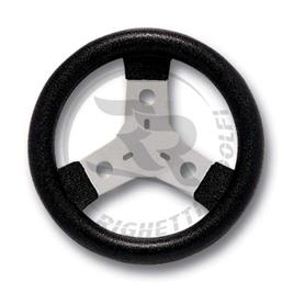 Cadet Steering Wheel Black Polyurethane