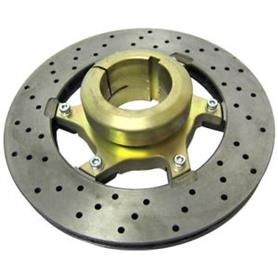OTK Brake Disc and Carrier 206 x 16mm Complete