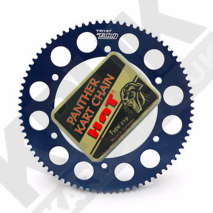 Panther Chain 102 & Talon Sprocket 76 - 86