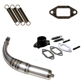 IAME X30 Exhaust Parts