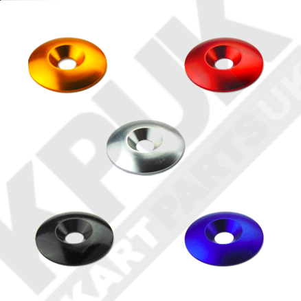 M8 Anodised Countersunk Washers