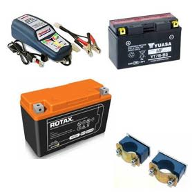 Rotax Evo Battery & Cradle Parts