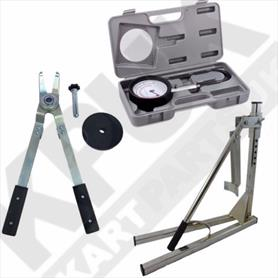 Bead Breaker Tyre Tongs and Pressure Gauge Set