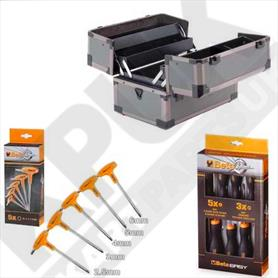 Cantilever Tool Box 5 Piece Beta T Bars and 8 Piece Beta Screwdriver Set