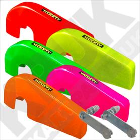 Tillett Composite Rotax Chain Guard 2019 Fluro With Fitting Kit
